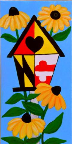 St Francis De Sales Fundriaser Maryland Sip Paint Spirited Sisters Studio