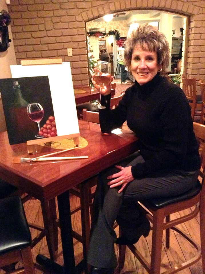 Artist Kathy Smith
